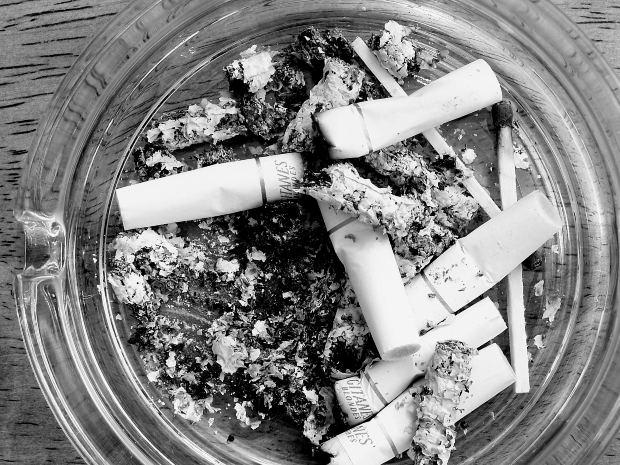 El tabaco y el oficio de escritor